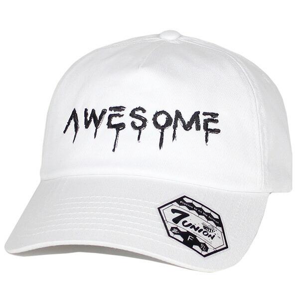 7UNION 7ユニオン The Awesome Bent Brim Cap ボールキャップ ユニセックス 帽子 IPVW-119 ホワイト