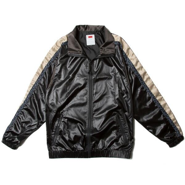 【エントリーでポイント20倍】 ナインルーラーズ ジャケット NINE RULAZ Nylon Track Jacket メンズ ナイロンジャケット NINE RULAZ LINE NRSS18-010 ブラック