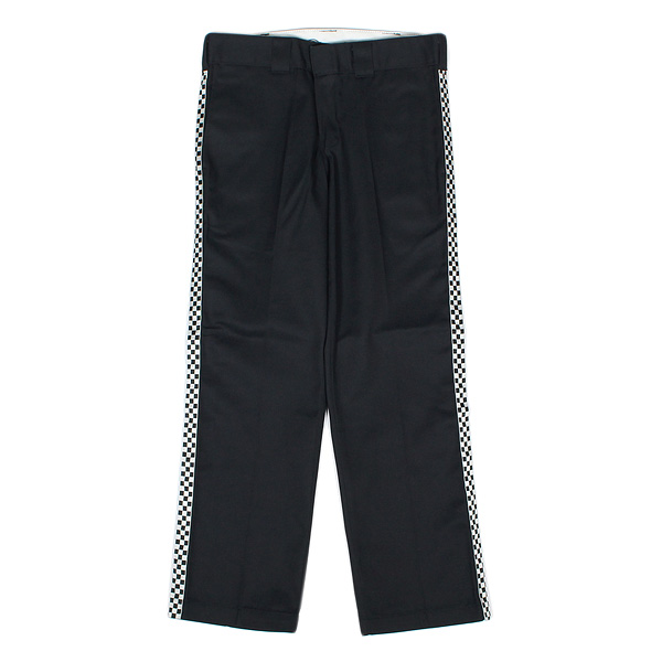 7ユニオン ラインパンツ 7UNION Remake Side Line Tape Pants IPVW-021C BLACK ブラック CHECKER LINE チェッカー ライン