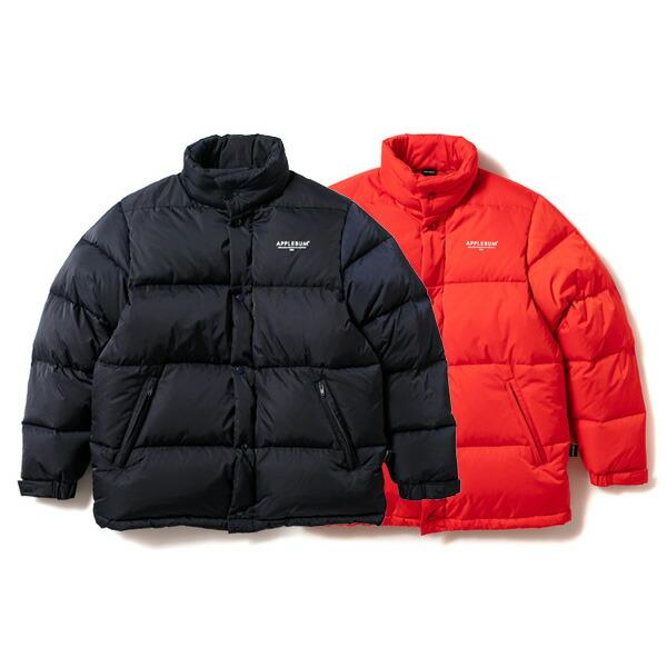 【エントリーでポイント20倍】 アップルバム ダウンジャケット メンズ レディース 送料無料 APPLEBUM Down Jacket アウター ジャケット ストリート ブランド applebum おしゃれ プレゼント 全2色 M-XL 1920611