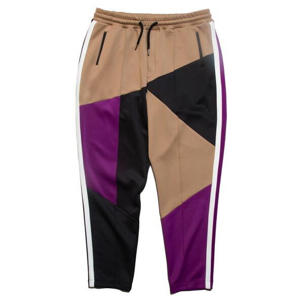【エントリーでポイント20倍】 ナインルーラーズ パンツ メンズ レディース 送料無料 NINE RULAZ LINE Multi Jersey Pants ジャージ セットアップ ストリート レゲエ ブランド M-XXL マルチカラー NRAW19-006