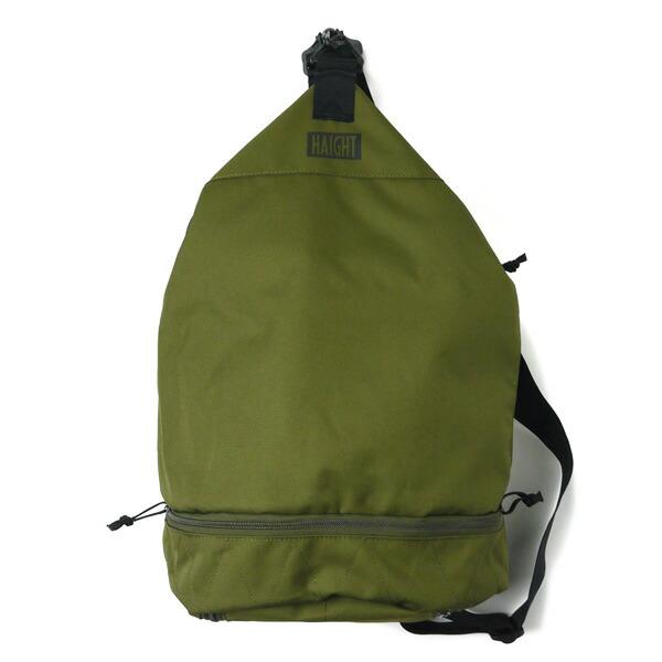【エントリーでポイント20倍】 ヘイト バッグ メンズ レディース 送料無料 HAIGHT One Shoulder Training Bag ワンショルダーバッグ トレーニングバッグ ミリタリー おしゃれ ストリート ブランド OLIVE オリーブ ワンサイズ HT-G180004