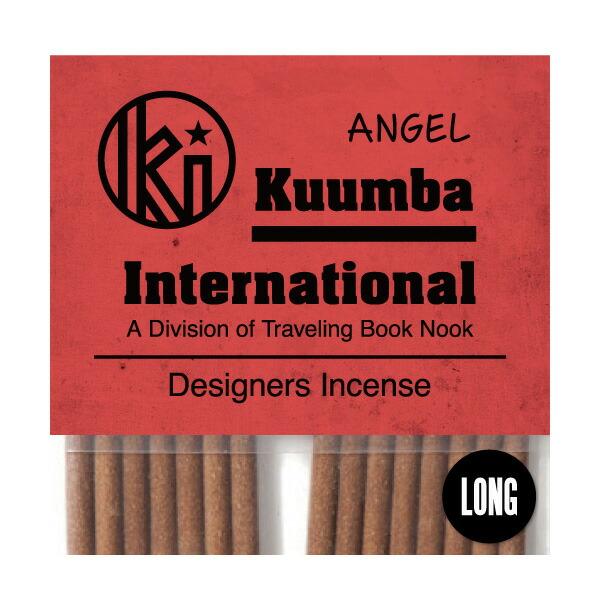 ランキング総合1位 厳選された素材を一本一本手作業で生産しているKUUMBAのインセンス 高級品 あす楽対応_東北 あす楽対応_関東 クンバ お香 女性に人気のストロベリーキャンディーのような香り 15本入り レギュラーサイズ Angel KUUMBA インセンス