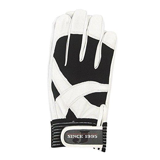【10双セット販売】おたふく手袋 JW-820 クロスウィング 豚革手袋