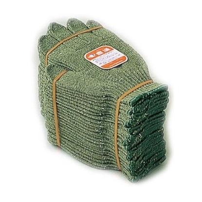 【10ダースセット販売】おたふく手袋 630 豊漁ワサビ3 化合繊維軍手 フリーサイズ 1ダース×10 120双