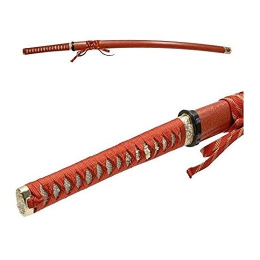 模造刀 NEU-062RD 戦国シリーズ・姫鶴一文字(赤拵) 大刀 全長:105cm/刃渡:73cm/柄長:25.5cm