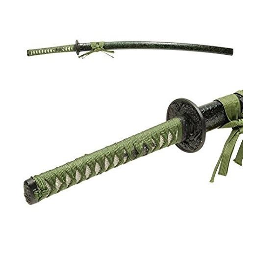 模造刀 NEU-059L 雲シリーズ・緑雲 大刀 全長:105cm/刃渡:70cm/柄長:25cm
