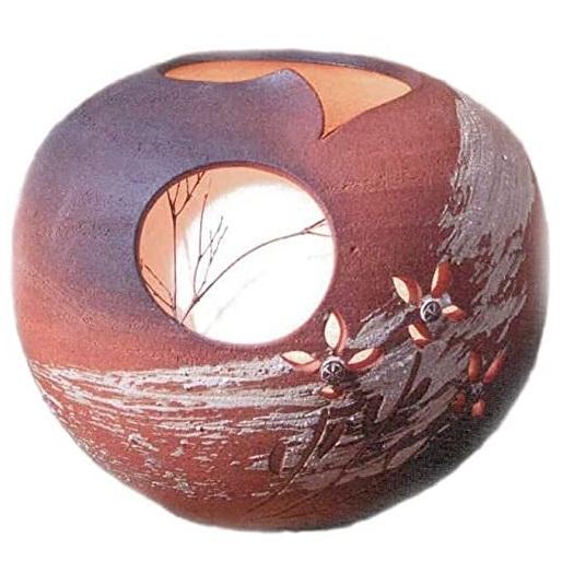 信楽焼とは焼き上がりの明るい特色の土が特徴 毎日がバーゲンセール 信楽焼 ディスカウント 陶照明 秋の月灯り