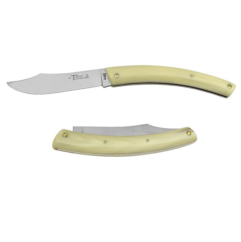 ほぼすべての作業を昔ながらの手作業でこなす数少ないメーカーです 伝統のフォルムとハンドルの素材に徹底的にこだわる姿勢がナイフの特徴となっています MCC エムシーシー 激安通販販売 訳あり チアーズ 95CB THIERS