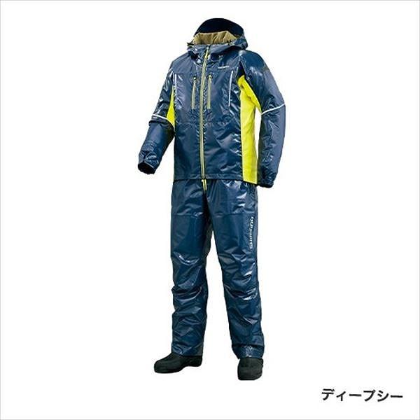 シマノ RB-033R SS 3Dマリンコールドウェーザースーツ ディープシー L