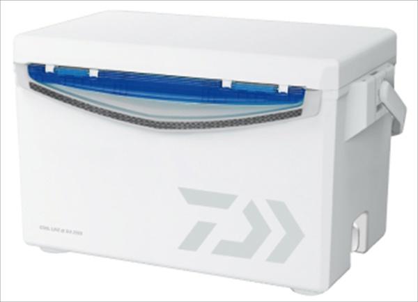 ダイワ クーラーボックス クールラインアルファ GU2500 ホワイト/ブルー