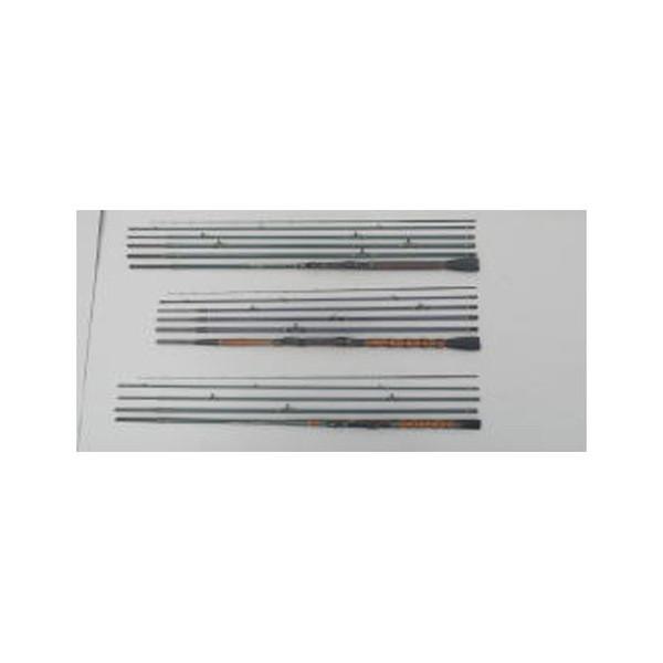 つり具のニットウ へち竿 小継8尺ミニクロガイド 乾漆握り