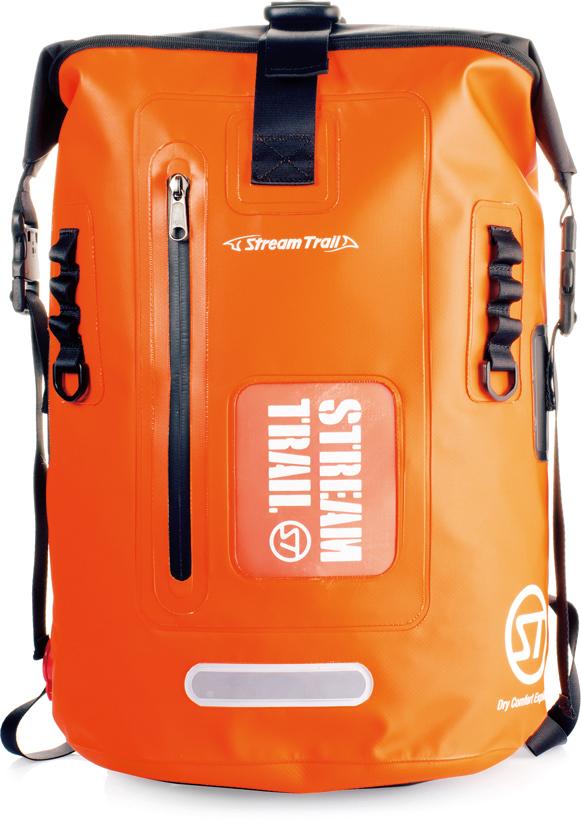 キャップス ストリームトレイル ドライタンク 25L D2 FIRE/オレンジ