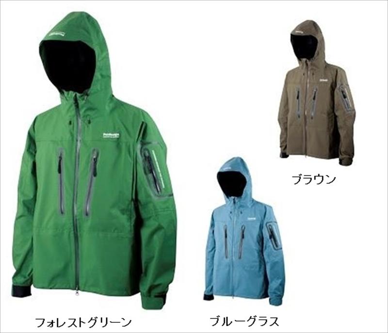 パズデザイン L ZBR-006 BSトラウトレインジャケット ブラウン L ブラウン, タノハタムラ:524cc486 --- sunward.msk.ru