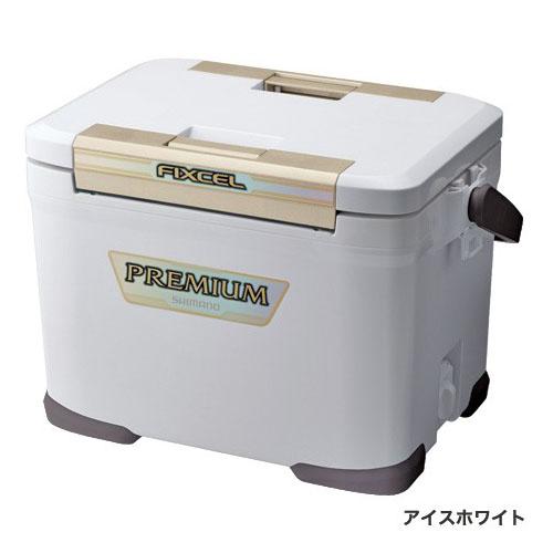 シマノ クーラーボックス フィクセル プレミアム 170ZF-017N アイスホワイト