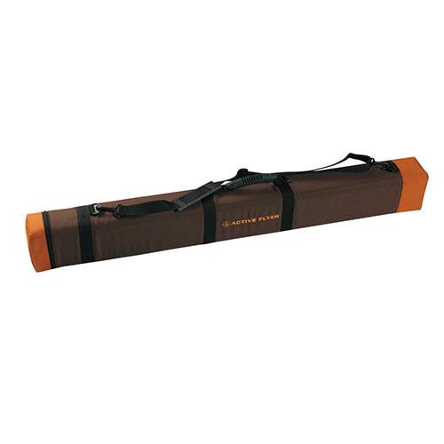 ティムコ アクティブフライヤーロッドケース ラージ(4角形) 100cm ブラウン