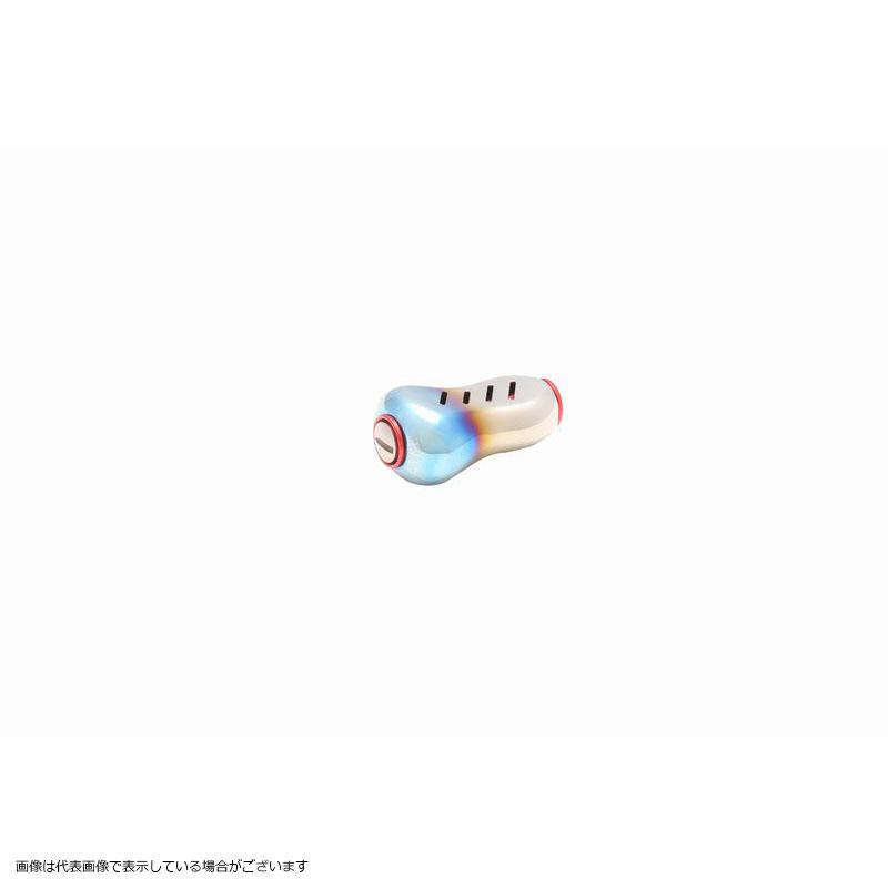 メガテック(LIVRE) ノブ単体(フィーノプラス) 2個 (ファイヤー+レッド)