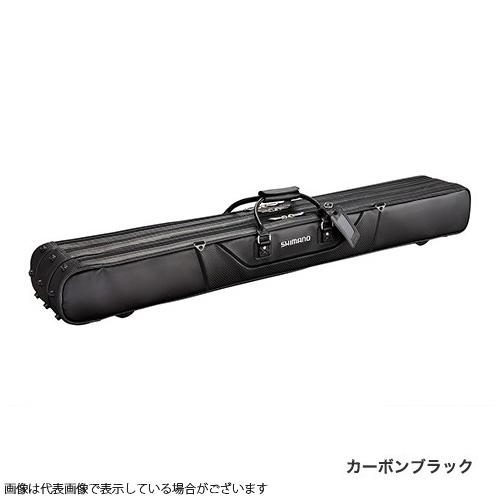 シマノ へらロッドケースXT RC-012Qカーボンブラック 2 層