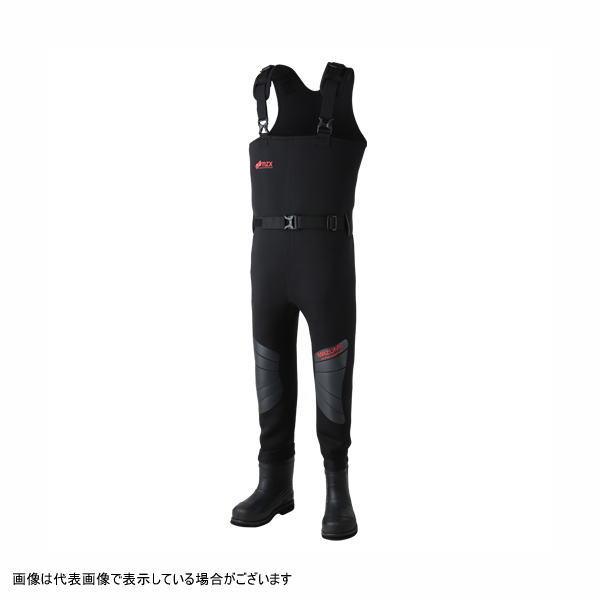 【ポイントアップ 4/1 10:00~4/8 09:59】mazume(マズメ) MZXBF-041 MZX ネオプレーンウェイダー Ver.2 ブラック L
