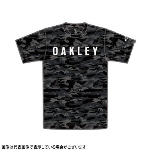 【大感謝祭全品エントリー10倍最大43倍】Oakley(オークリー) RASH TEE 8.0 482396JP Black Print M【期間12/19 20:00-12/26 1:59】