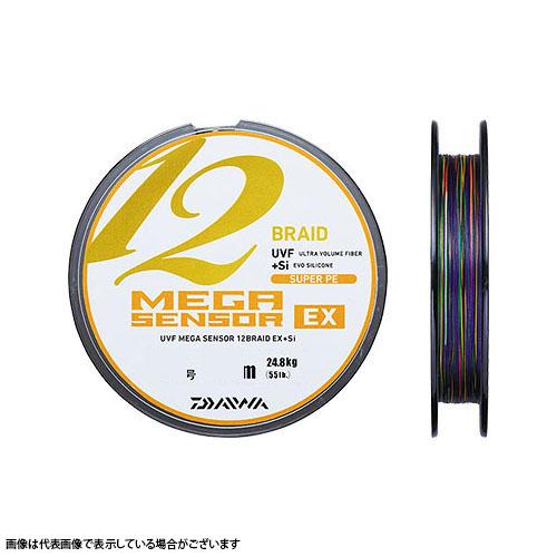 ダイワ メガセンサー×12EX(12ブレイド) 5号-300m