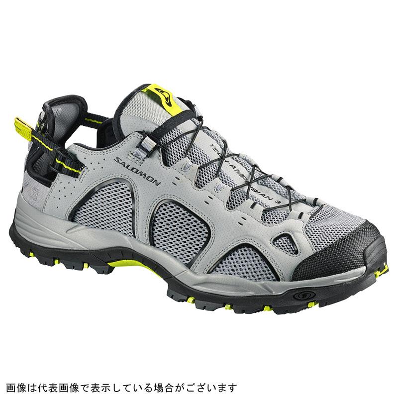 サロモン L40159600 テックアンフィビアン3 カリー/ブラック/アシッドライム 25.5cm