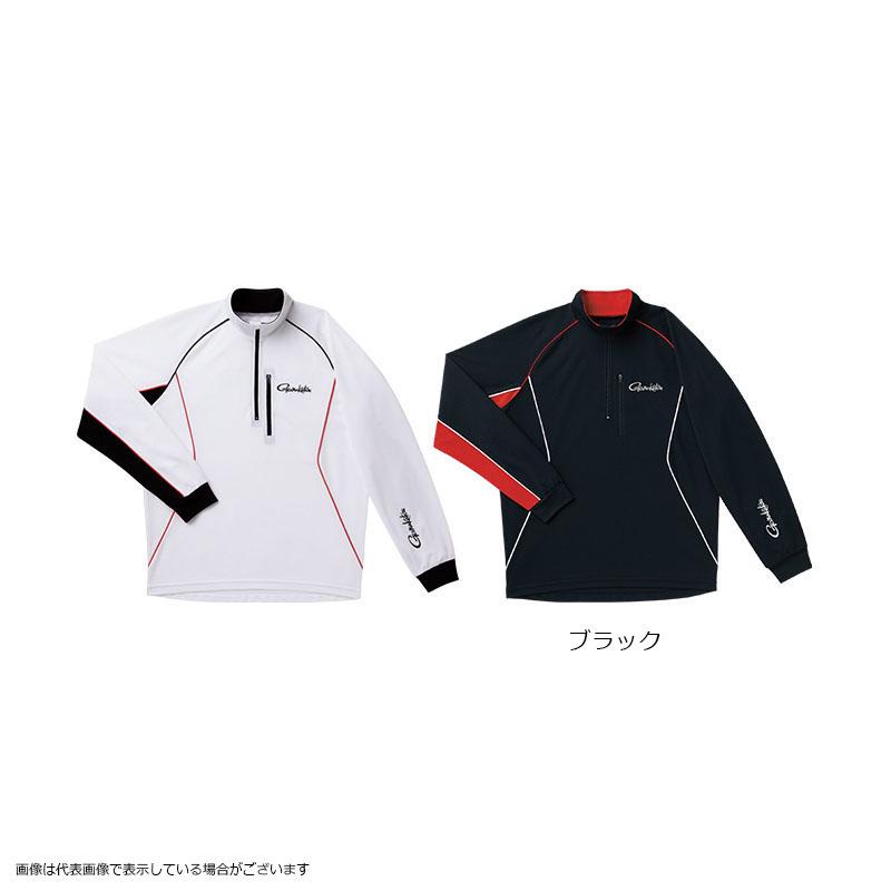 がまかつ GM3472 クールマックスジップシャツ ブラック M