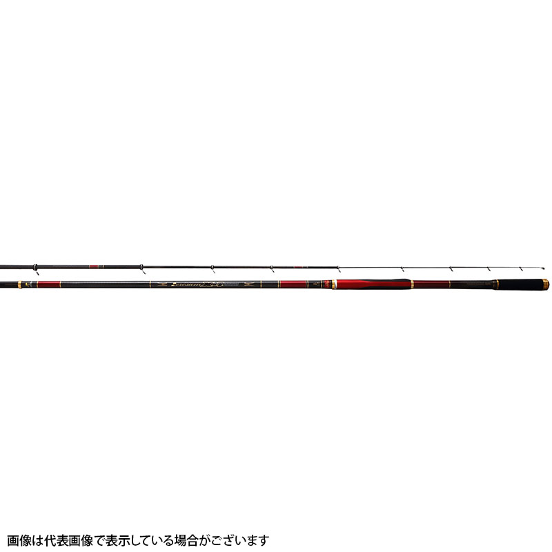 宇崎日新 ☆ ゼロサム磯 真Xー4 2号 5305 5.3m 5本継(振出)