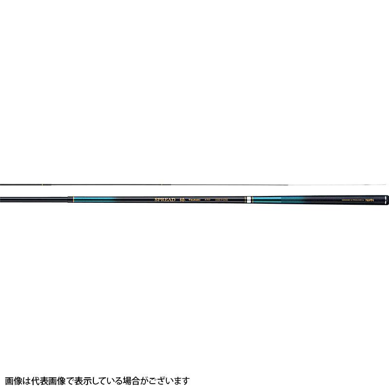 宇崎日新 ☆ スプレッド 椿 5411 5.4m 11本継(振出)