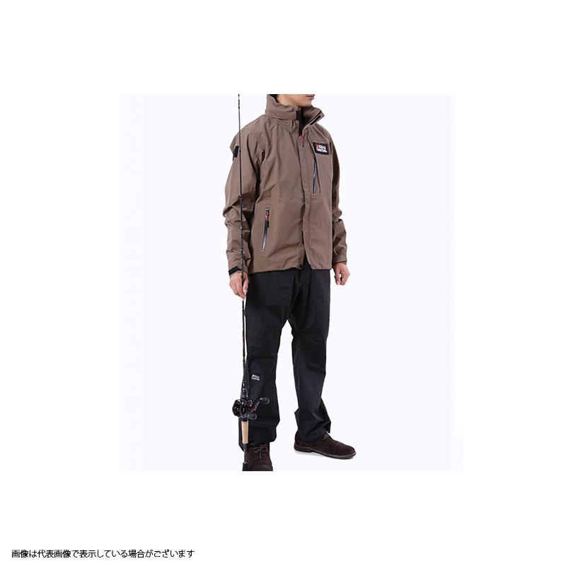 アブガルシア(Abu) スタンダードレインスーツ L カーキジャケット×ブラックパンツ