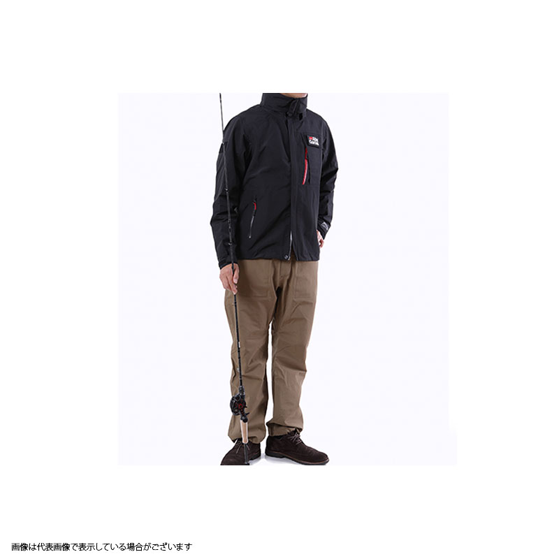 【メーカー包装済】 アブガルシア(Abu) スタンダードレインスーツ XL XL ブラックジャケット×カーキパンツ, アソウマチ:ad0e1ce4 --- hortafacil.dominiotemporario.com