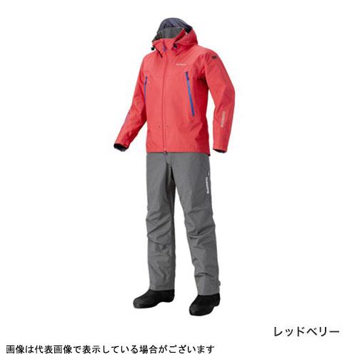 シマノ RA-025Q DSアドバンススーツ レッドベリー L