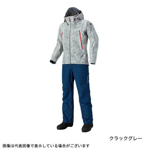 シマノ RA-025Q DSアドバンススーツ クラックグレー L