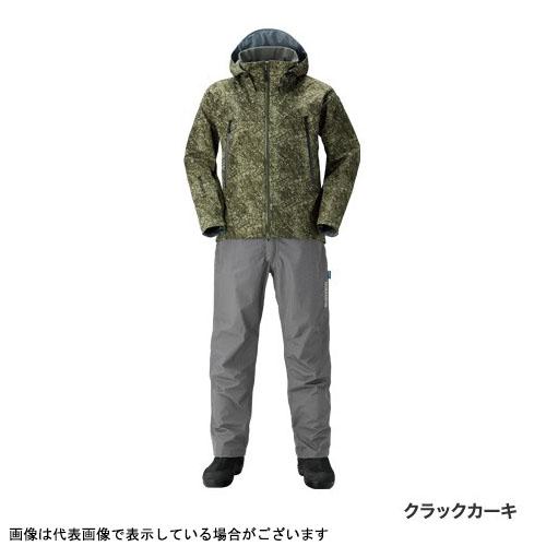 シマノ RA-025Q DSアドバンススーツ クラックカーキ L
