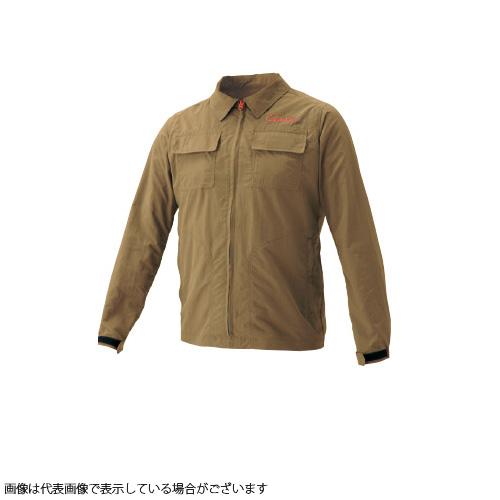 がまかつ GM3563 ノーフライゾーン NFZフィールドジャケット コヨーテ LL