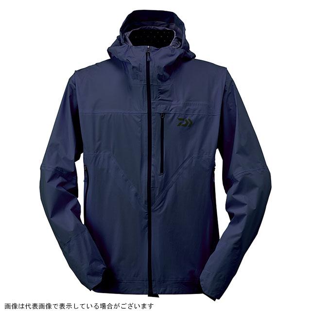 【スーパーSALEエントリー10倍最大43倍】ダイワ DR-32009J レインマックス ポケッタブルレインジャケット ドレスブルー L