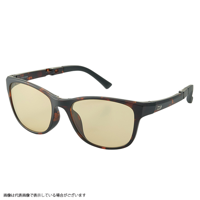 ダイワ DN-30009 折りたたみサングラス※偏光サングラスではありません。 LTBR(BRDM)