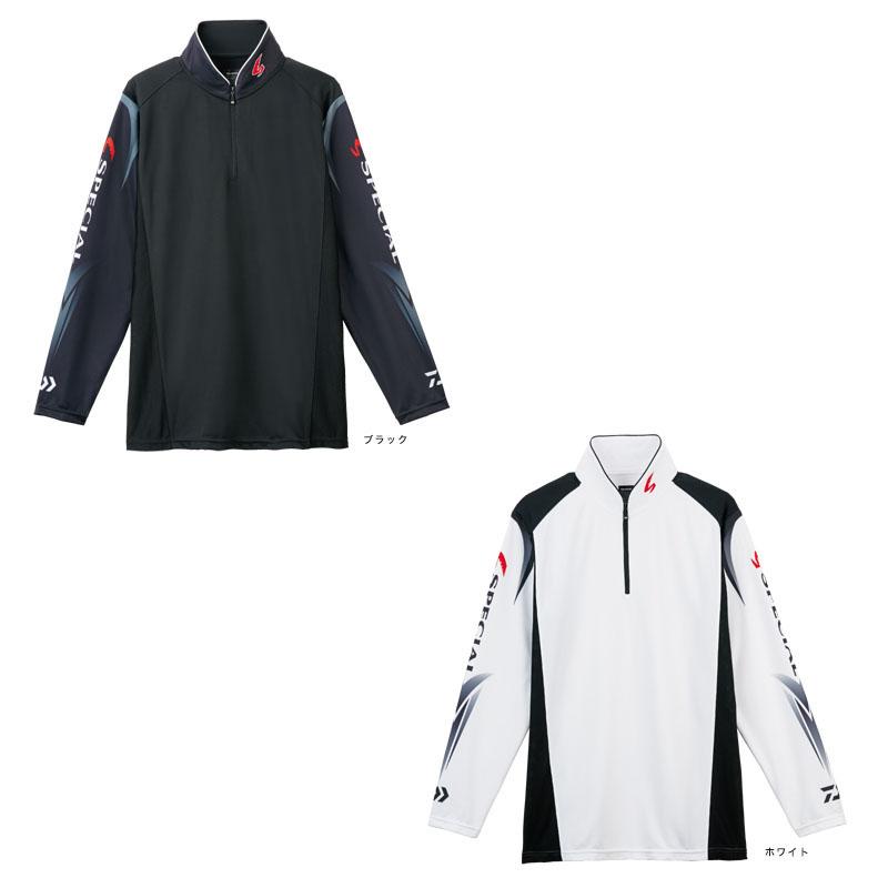 ダイワ DE-7207 スペシャルウィックセンサージップアップ長袖メッシュシャツ