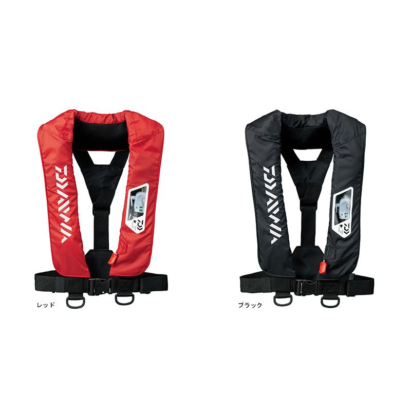 ダイワ DF-2007 ウォッシャブルライフジャケット(肩掛けタイプ手動・自動膨張式) 国土交通省型式承認品【Type A】
