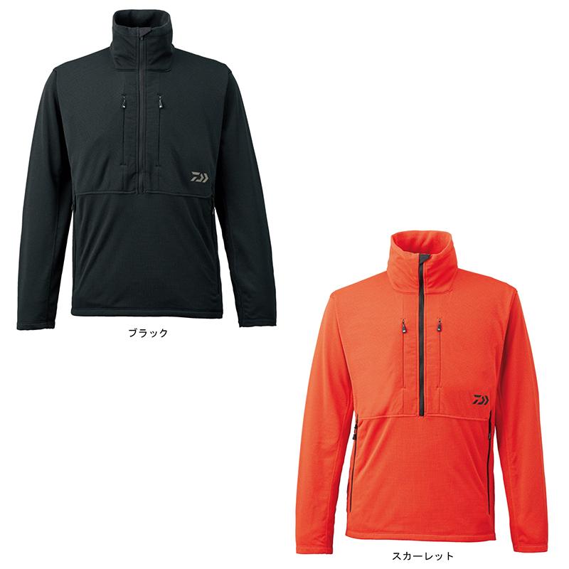 【特価】 DJ-2107 ハーフジップジャケット