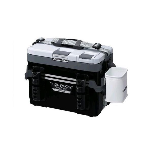 【スーパーSALEエントリー10倍最大43倍】シマノ クーラーボックス フィクセル LIGHT GAME SP 120 LF-L12N ブラック