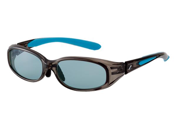 ZEAL OPTICS ジールオプティクス F-1221 レビン REVIN クリアグレー/ブルー MASTER BLUE