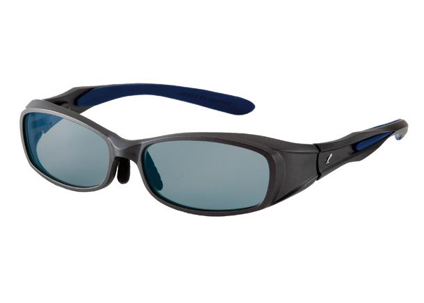 100%安い ZEAL OPTICS ジールオプティクス F-1206 カヴァロ CAVARO ガンメタル/ネイビー MASTER BLUE, アーロンチェア by THE CHAIR SHOP fdfd385f