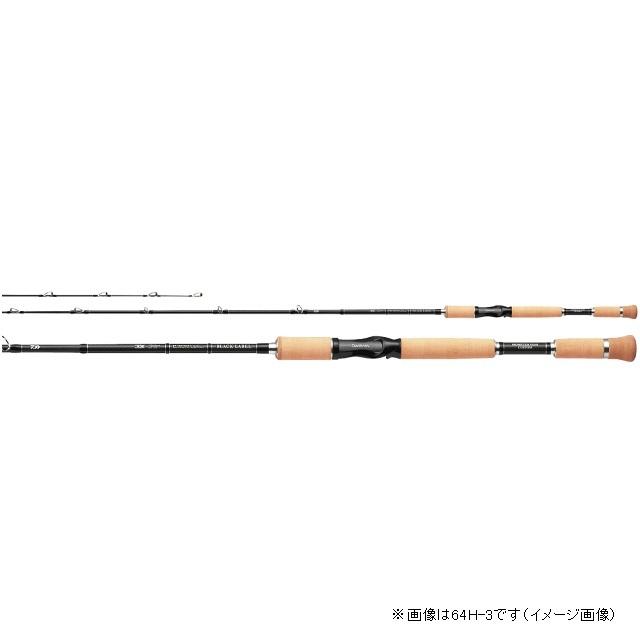 ダイワ ブラックレーベル XP 61SH-3 (ベイト 3ピース )