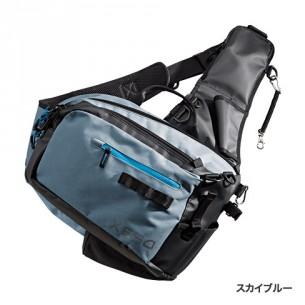 シマノ Light Salt Sling Shoulder Bag スカイブルー