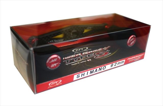 オフィス ZPI PGカーボンハンドル タイプS PG-TS92SH-R