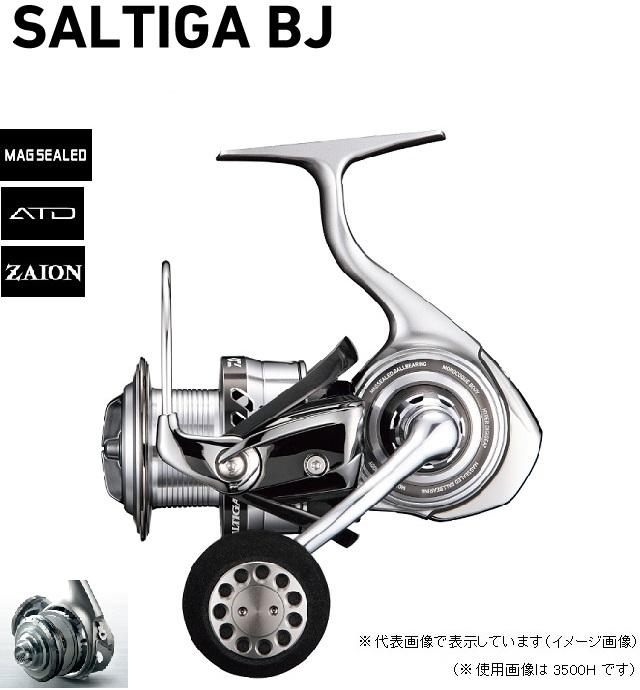 ダイワ(Daiwa) リール 17 ソルティガ BJ(スピニングモデル) 3500H スピニングリール 【np194rel】