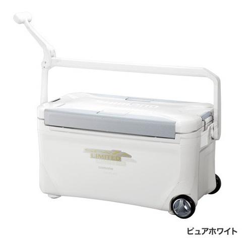 シマノ クーラーボックス HC-125P SPAZA LIMITED 250 キャスター ピュアホワイト