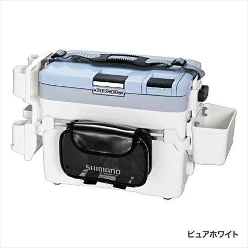 シマノ クーラーボックス LF-L09P フィクセル LG SP2 90 ピュアホワイト