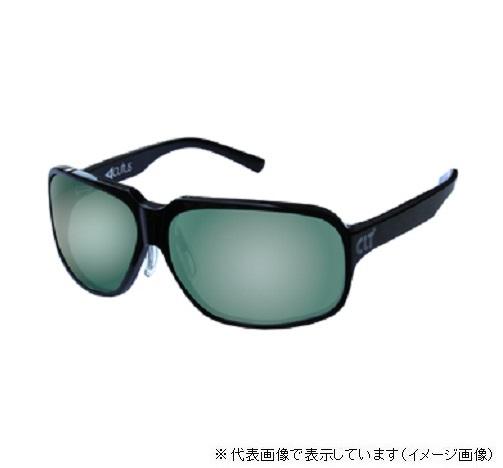 CLT偏光グラス Acutus(アクタス) ブラック/グリーンスモーク(シルバーミラー)